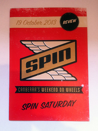 Spin Saturday